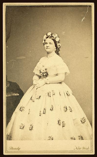 Mary Todd Lincoln, Dance Card