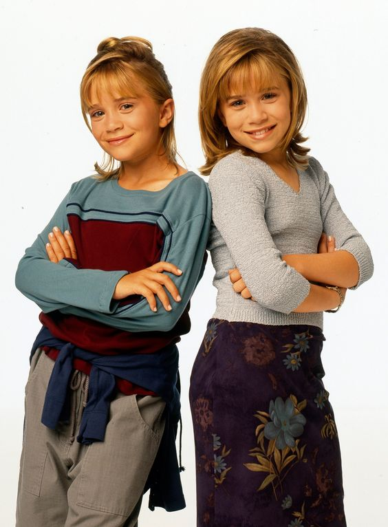 Mary-Kate and Ashley Olsen in Two of a Kind