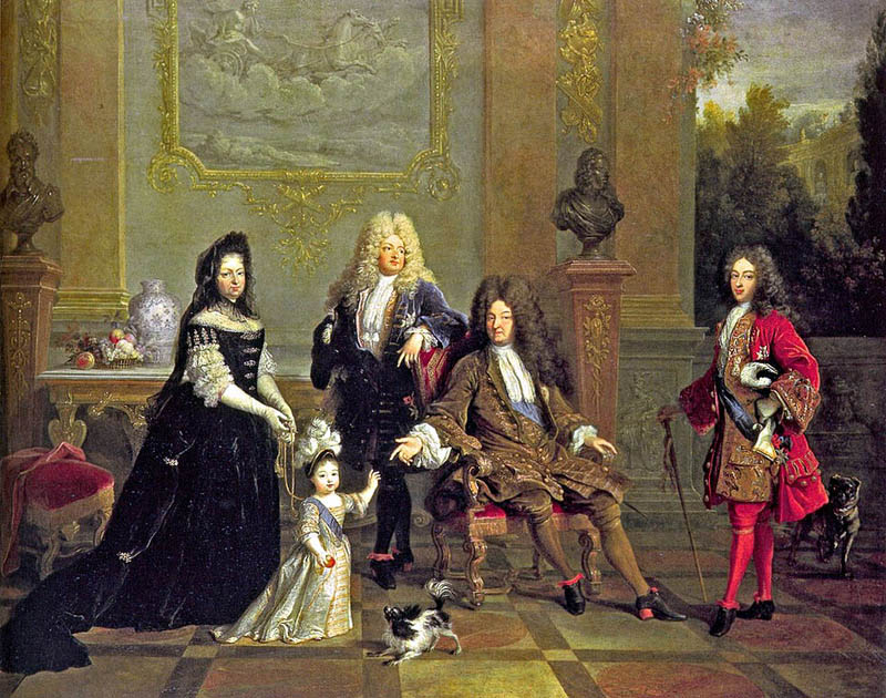 Louis XIV of France and His Family