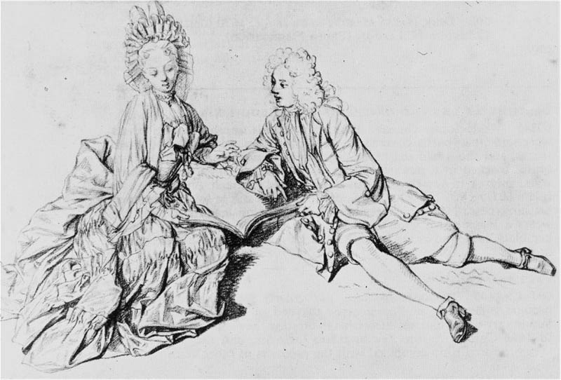 Figures for a Galanterie