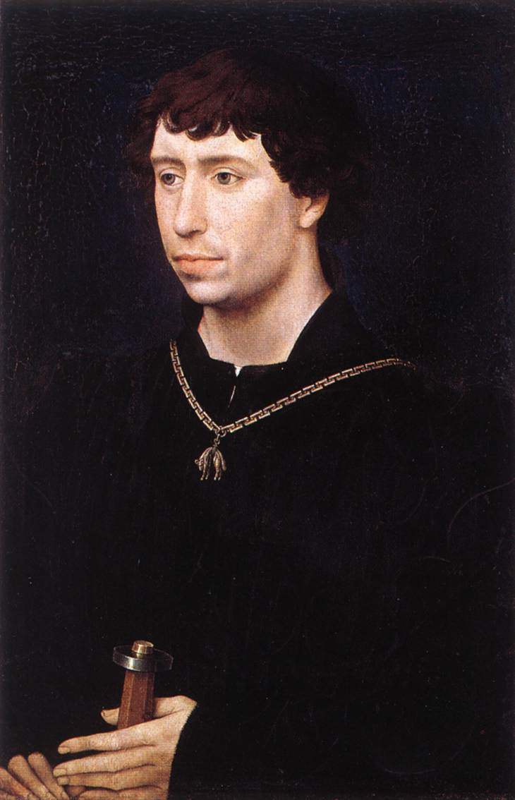 Portrait of Charles the Bold (as Count of Charolais)