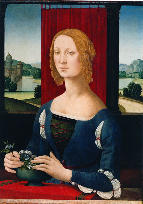 Portrait of a Young Lady or Portrait of Caterina Sforza