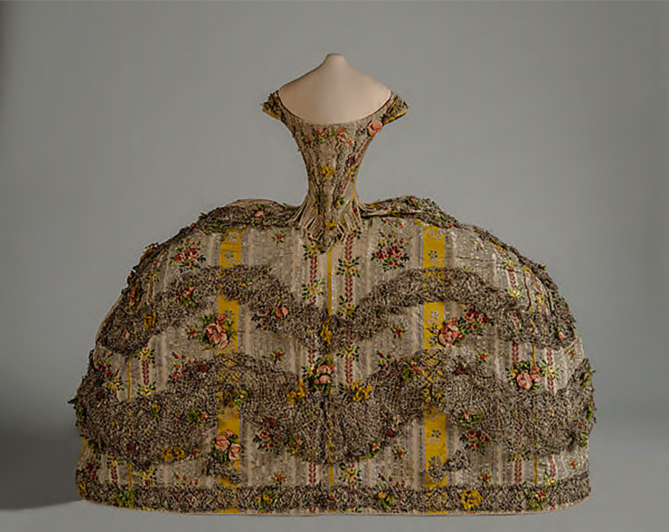 Doll's Court Gown