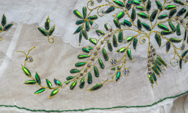 Beetle-Wing Embroidery in Nineteenth-Century Fashion
