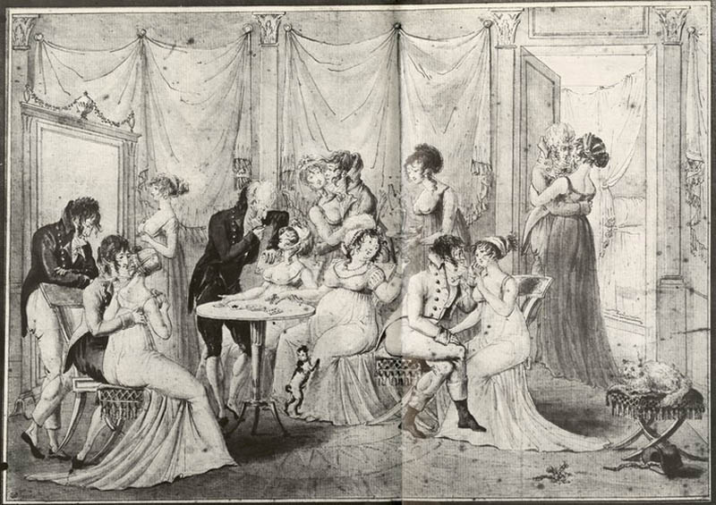 Salon During the Directoire