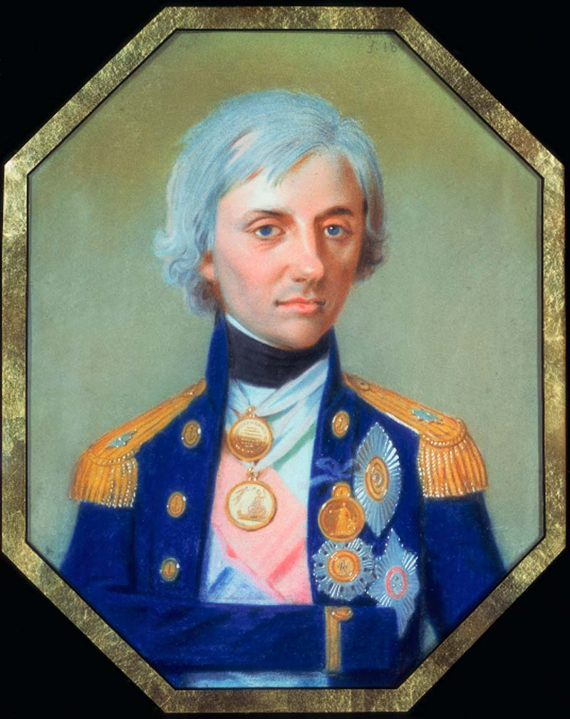 Horatio Nelson (1758 -1805), Vice Admiral of the White